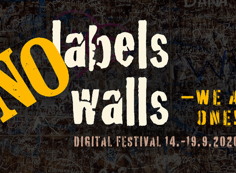 Welcome to the No Labels No Walls + We Are One Festival 2020