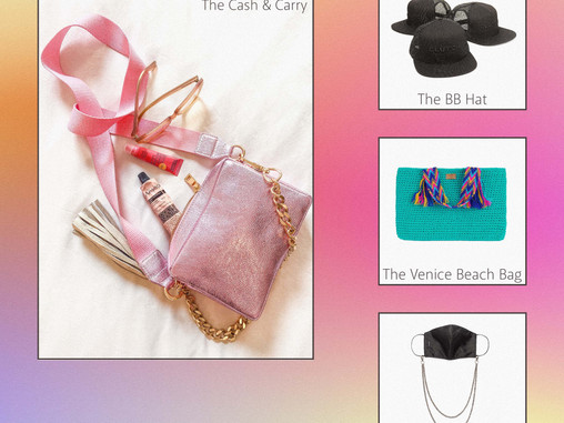 how to style: the summer bag
