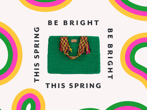 how to wear bright accessories this spring