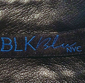 BLK and blu, made in USA, new york city, leather accessories, belt bag, headband, hair accessories