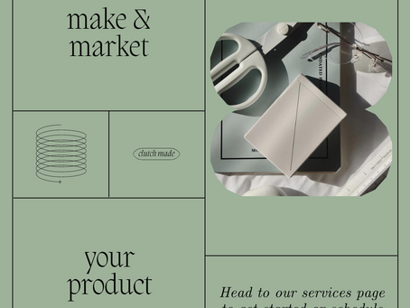 make & market your product