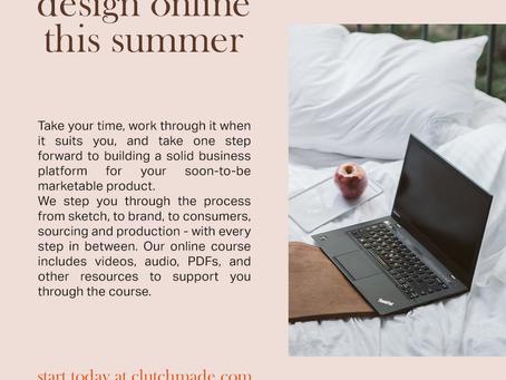 design online this summer