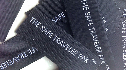 woven labels; made in USA