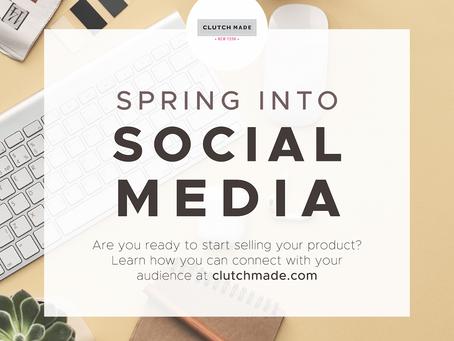 Spring into social media