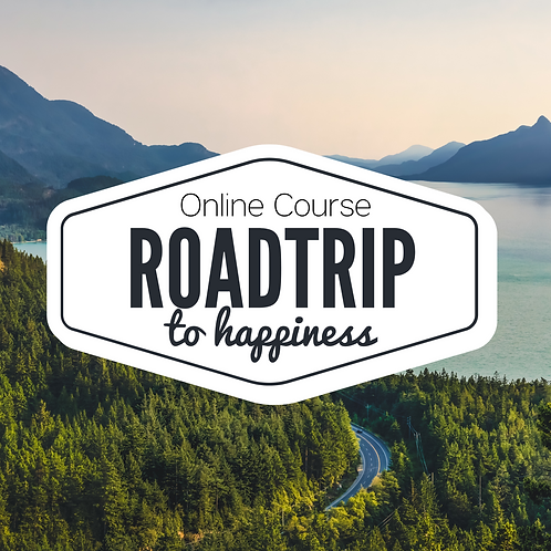 The Roadtrip To Happiness: An online course for the overwhelmed mom