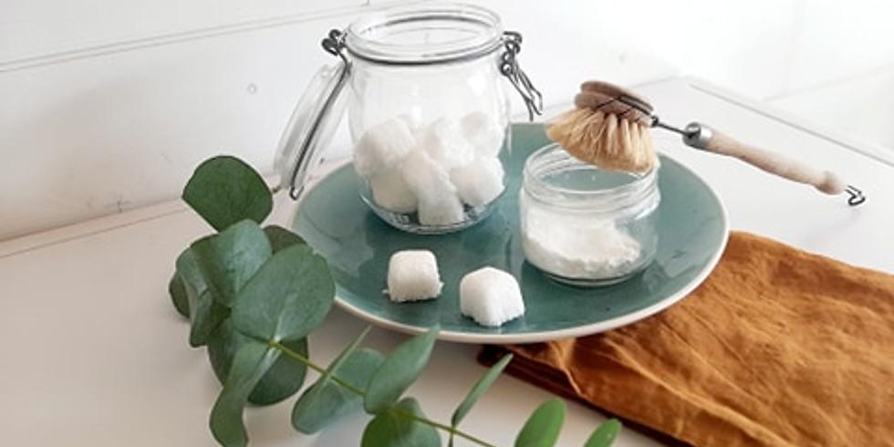 Atelier écologique : spécial WC propres! Gel WC, pastilles effervescentes et pschitt sent bon!