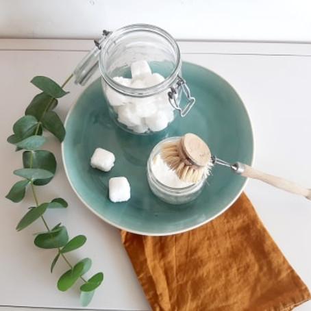 atelier écologique& ZD : Ma vaisselle au naturel : pastilles, cake vaisselle & tawashi