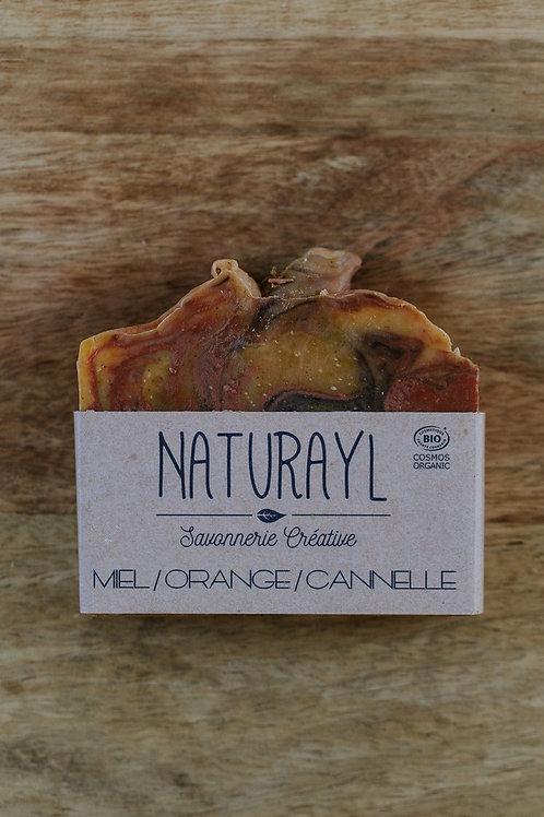 Savon Miel/Orange/Cannelle – collection Noël