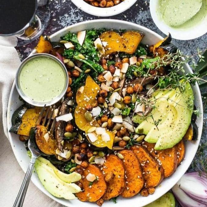 atelier cuisine : Découverte des graines germées, Buddha Bowl d'automne