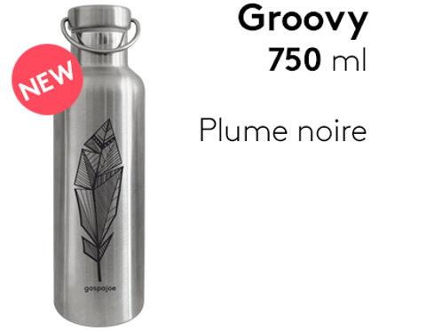 Gourde inox isotherme GROOVY GASPAJOE 750ML