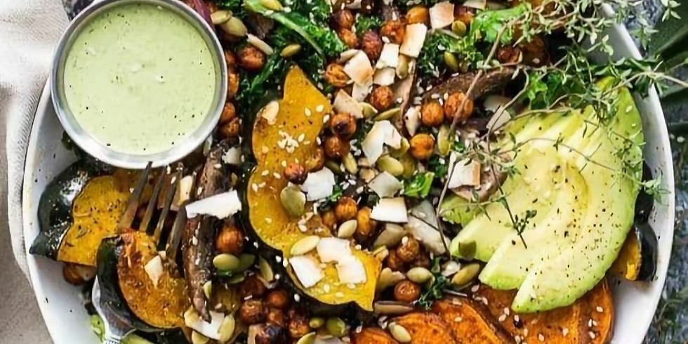 atelier cuisine : Découverte des graines germées, verrine apéro et Buddha Bowl d'automne