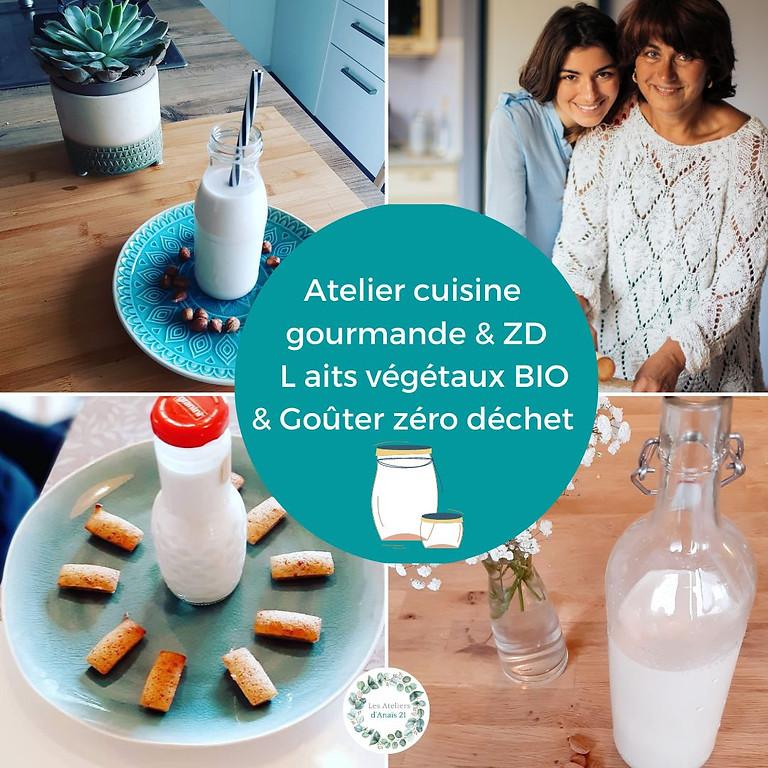 Atelier cuisine Zéro déchet: découverte des laits végétaux & goûter zéro déchet