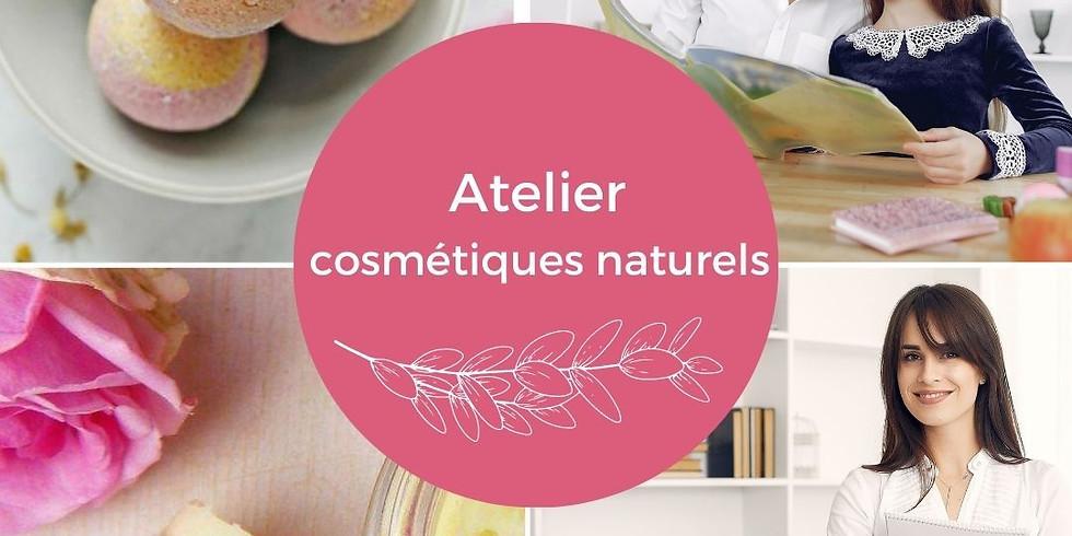 Atelier Merci Maîtresse/ATSEM/Nounoun: fabrication de 2 cométiques naturels