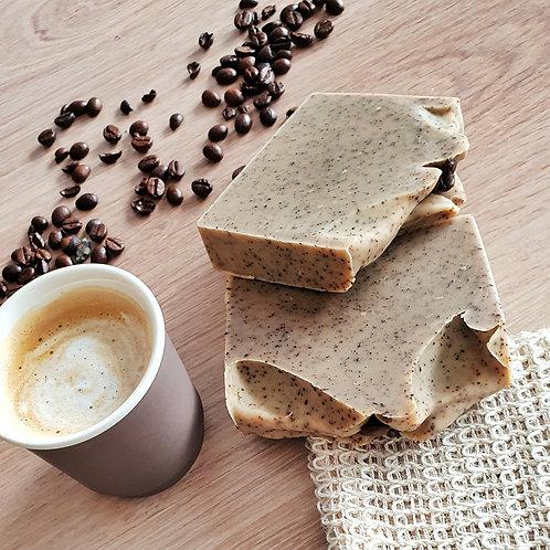 Savon Gommant café/noisette