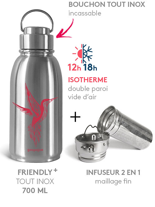 PACK GOURDE FRIENDLY COLIBRI+ ISOTHERME