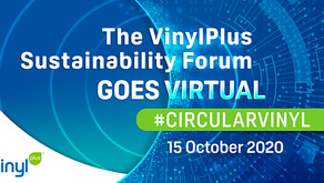 European PVC industry builds new 2030 sustainability programmeatthe online VinylPlus Sustainability