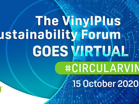European PVC industry builds new 2030 sustainability programmeatthe online VinylPlus Sustainability