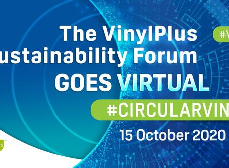 Virtual VinylPlus Sustainability Forum: REGISTRATION OPEN!