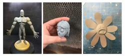 Animation Sculpts 1