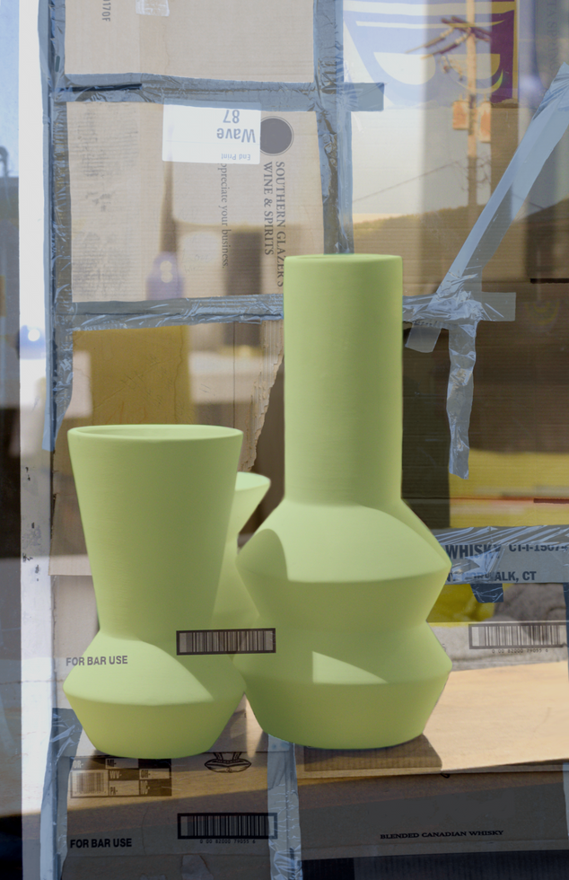 Portrait of a City with Vases