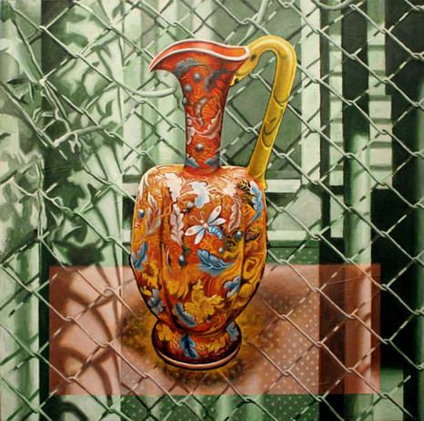 Portrait of a City with Bohemian Ewer