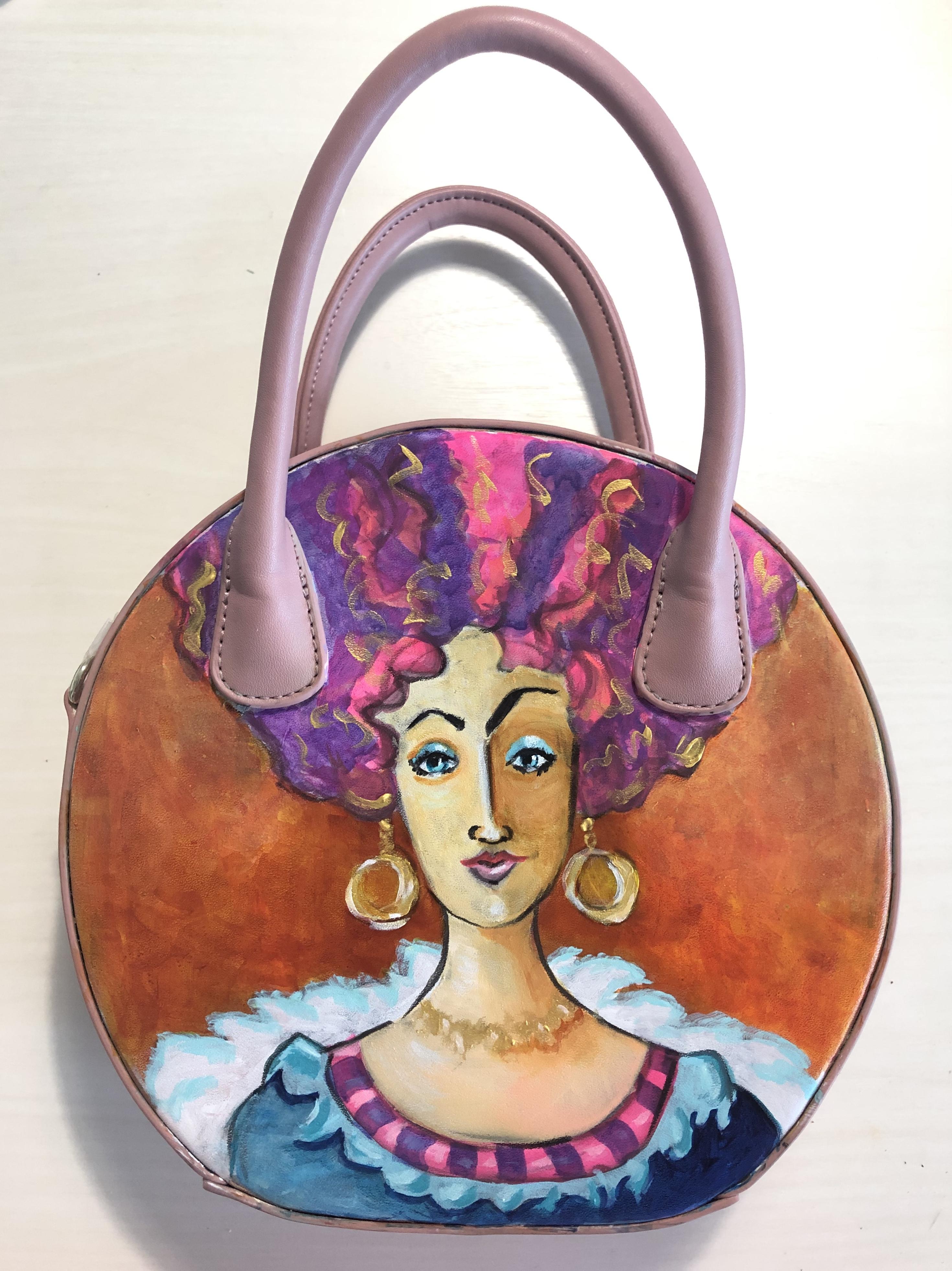 Pink Bag Lady