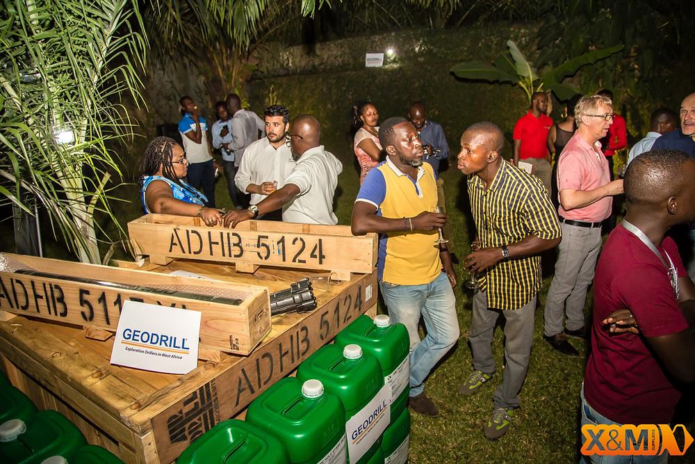 GEODRILL Abidjan Mining Drinks