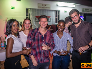 PICTURE OF THE ABIDJAN MINING DRINKS OF THE 04/05/2018 SPONSORED BY FORACO