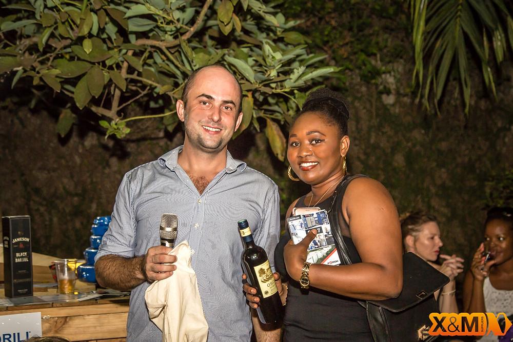 Stanislas de Stabenrath Abidjan Mining Drinks