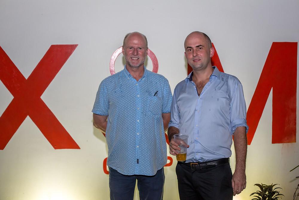 Stanislas de Stabenrath and AMD sponsor Paul Kitto