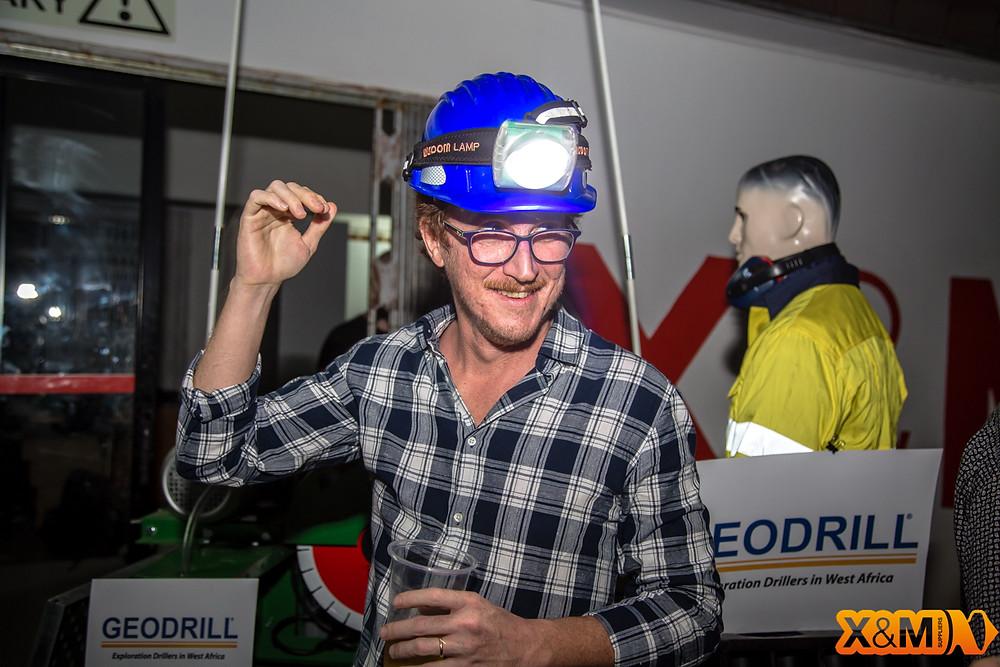 Peter Hansen Abidjan Mining Drinks