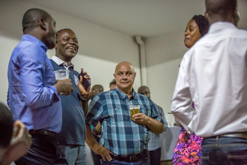 Bernard Boulet FTE Abidjan Mining Drinks Ivory Coast X&M