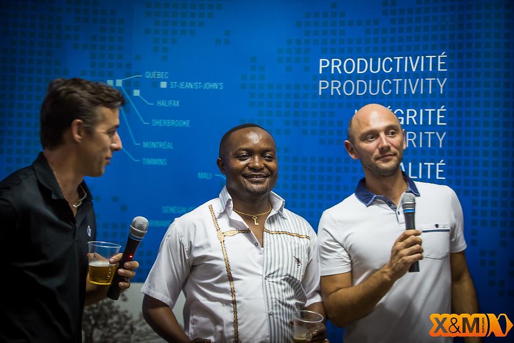 Virgile Glenat X&M - Vincent Gonthier Forage FTE -- Abidjan Mining Drinks
