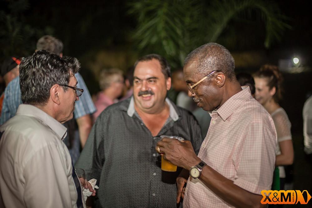 Terry burling GEODRILL Abidjan Mining Drinks