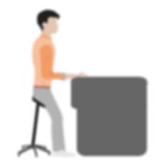 Posture assis-debout