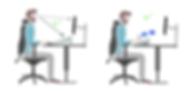 ergonomie travail sur écran