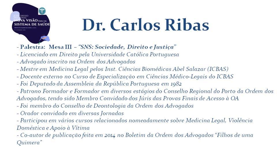 Dr. Carlos Ribas