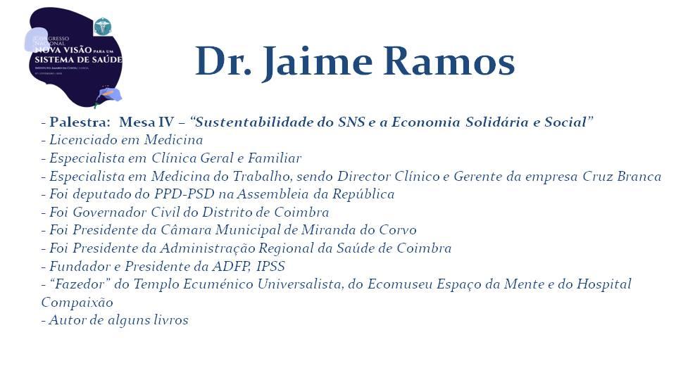 Dr. Jaime Ramos