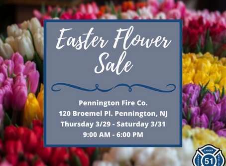 Ladies Auxiliary Easter Flower Sale