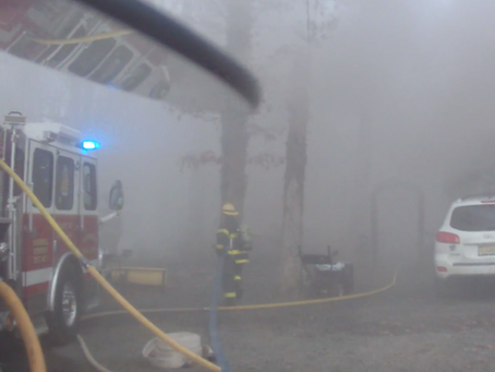Residential Structure Fire on Stony Brook Rd.