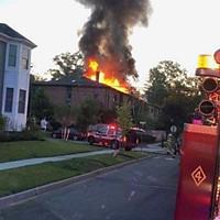 3 Alarm Dwelling, Princeton, Sergent St.