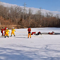 Ice Water Rescue Training