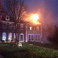 1 Alarm Chimney Fire on Shrewsbury Ct.
