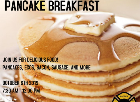 JOIN US FOR OUR ANNUAL PANCAKE BREAKFAST