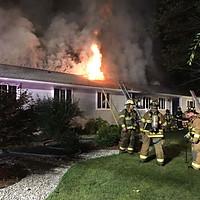 1st Alarm Dwelling Fire, Hopewell Twp.