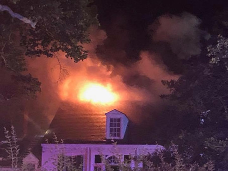 Engine 51 Dispatched to 3 Alarm DwellingFire in Princeton