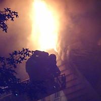 3 Alarm Dwelling, Princeton, Hodge Rd.