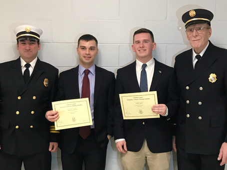 Fire Academy Graduation Fall 2017