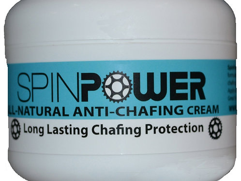 SpinPower All Natural Anti-Chafing Chamois Cream, 8-ounce