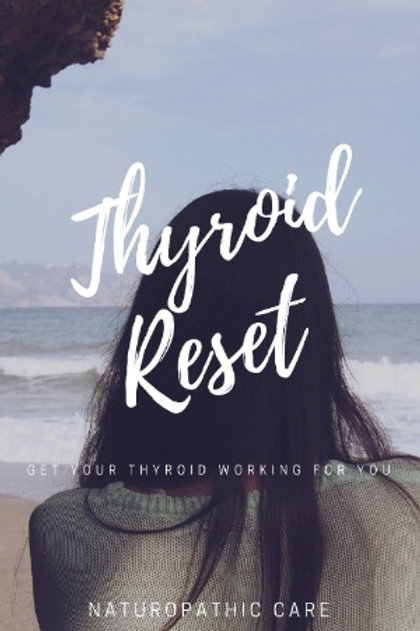 Thyroid Reset. Get Your thyroid working for you.
